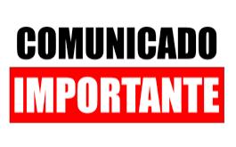 COMUNICADO EDUCAÇÃO DE JOVENS E ADULTOS