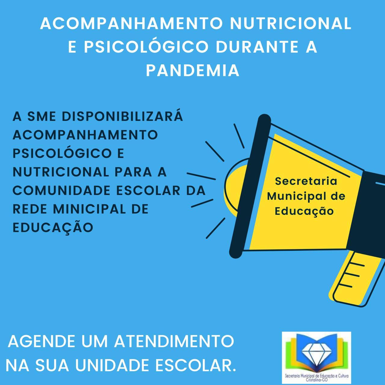 ACOMPANHAMENTO NUTRICIONAL E PSICOLÓGICO DURANTE A PANDEMIA